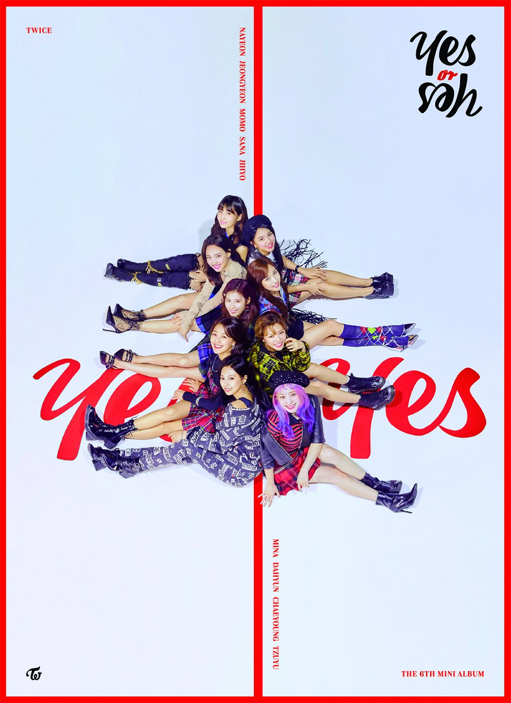 Yes Or Yes Twice Twicemedia: TWICE Révèle Les 3 Différentes Covers De « YES Or YES