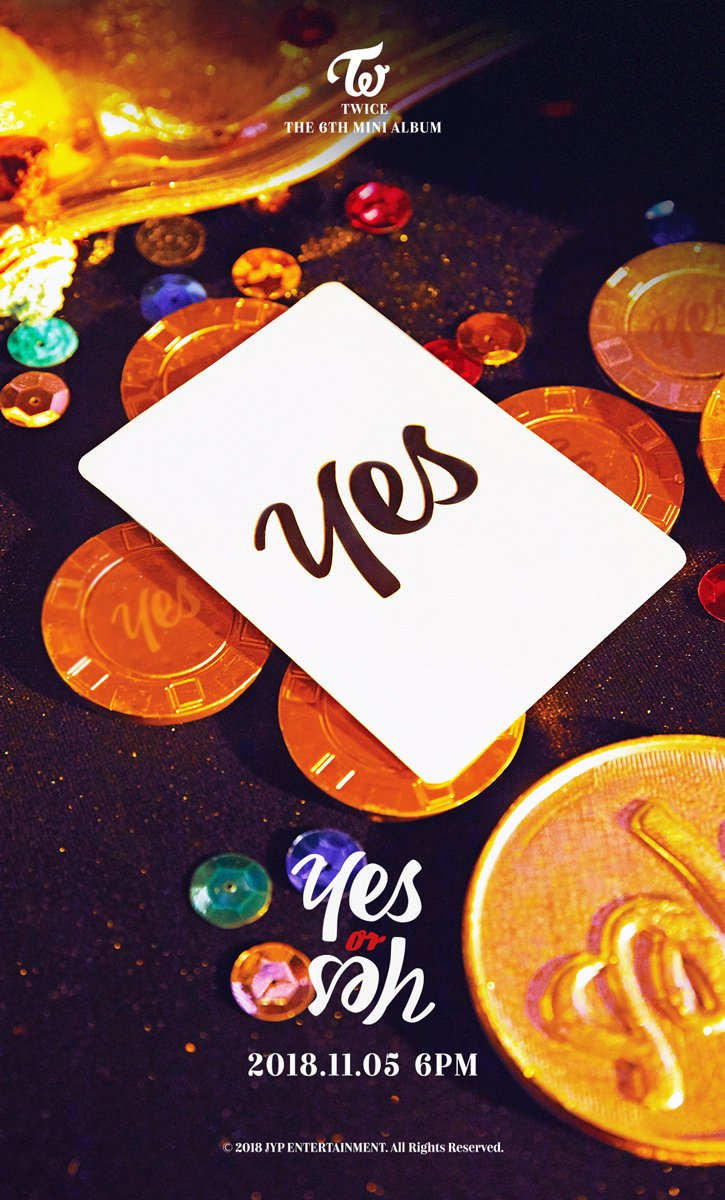 Yes Or No Tarot Spreads: TWICE Révèle Deux Images Teasers Pour Son Comeback